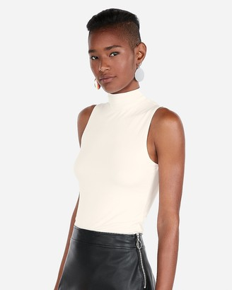 Express Sleeveless Mock Neck Tank