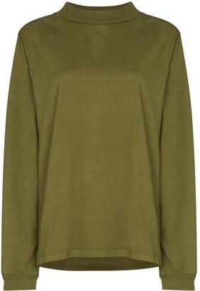 LES TIEN High-Neck Sweatshirt