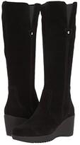 La Canadienne Grace (Black Suede) Women's Boots