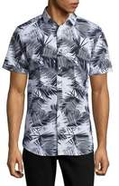 Sovereign Code Palm Print Button-Down Shirt