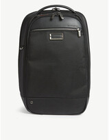 Briggs & Riley Mens Black @Work Slim Nylon Backpack