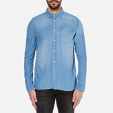 Nudie Jeans Henry Denim Shirt Diagonal