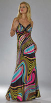 Sleek Multicolored Long Gowns by Dave and Johnny