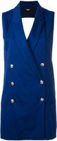 Versus double breasted waistcoat - women - Spandex/Elastane/Viscose/Wool - 42