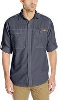 G.H. Bass & Co. Men's Explorer Survivor Point Collar Long Sleeve Fishing Shirt