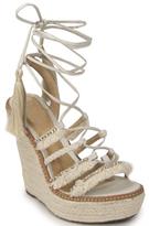 Schutz Talina - Embellished Wedge Sandal