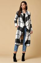 LIRA Emerson Wool Blend Plaid Coat