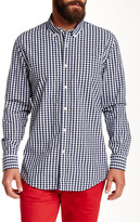 Jachs Long Sleeve Plaid Madison Fit Shirt