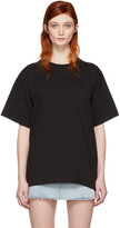 MM6 MAISON MARGIELA Black Reconstructed T-shirt