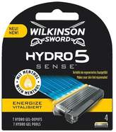 Wilkinson Sword Hydro Sense Energize Men's Razor Blades x4