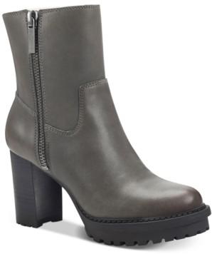 Lucky Brand Women's Bajax Lug Sole Booties Women's Shoes