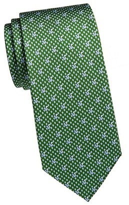 Salvatore Ferragamo Squirrels Acrons Silk Tie