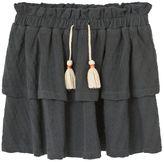 MANGO Girls Textured cotton skirt