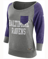 Nike Women's Baltimore Ravens Vintage Crew Long Sleeve T-Shirt