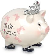 Mud Pie Piggy Bank in Princess Tiara