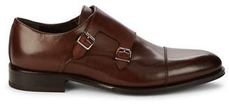 To Boot Dashiel Monk-Strap Leather Loafers