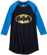 Girls 4-12 DC Comics Batgirl Raglan Nightgown