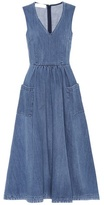 Co Denim midi dress