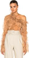 Zimmermann Bowerbird Lace Blouse