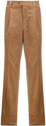 Brunello Cucinelli Straight-Leg Corduroy Trousers