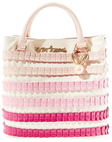 Betsey Johnson Pleats And Thank You Tote