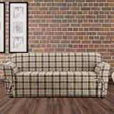 Sure Fit Highland Plaid 1PC Slipcover Sofa