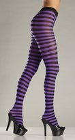 Be Wicked BW517 Striped Tights. O/S
