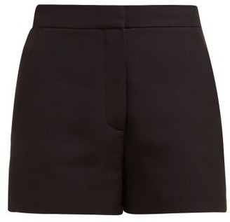 Valentino Tailored Wool-blend Shorts - Black