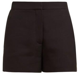 Valentino Tailored Wool-blend Shorts - Womens - Black
