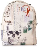 Alexander McQueen Letetrs From India Nylon Backpack