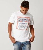 Junk Food Clothing Budweiser Label T-Shirt
