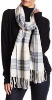 Steve Madden Classic Plaid Blanket Wrap