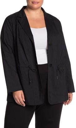 Lafayette 148 New York Porsha Stripe Jacket (Plus Size)