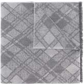 Pringle Argyle grid scarf