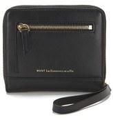 WANT Les Essentiels Women's Portela Zip Wallet Jet Black