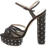 Charlotte Olympia Mesh Platform Sandals