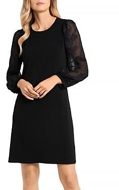 CeCe Embellished Sleeve Dress