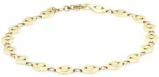 Sydney Evan Medium 14K Yellow Gold Evil Eye Link Bracelet