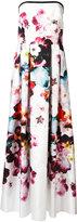Elie Saab floral print gown - women - Silk/Polyester - 40