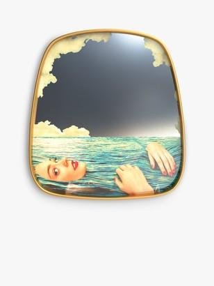 Seletti Sea Girl Mirror, 54 x 59cm, Multi