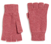 Johnstons of Elgin Heather Cashmere Fingerless Gloves