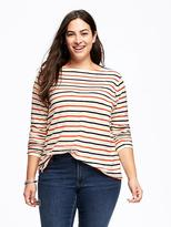 Old Navy Relaxed Plus-Size Boat-Neck Tee