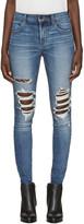 J Brand Indigo Maria High-Rise Skinny Jeans