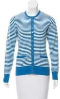 Tory Burch Cashmere Striped Cardigan