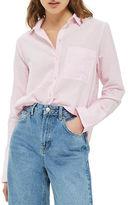 Topshop PETITE Zayn Chambray Shirt