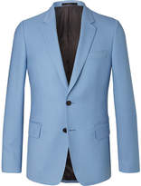 Paul Smith Light-Blue Soho Travel Slim-Fit Wool-Twill Suit Jacket