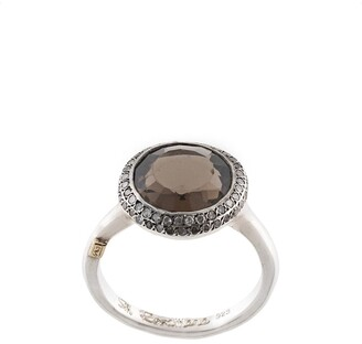 Rosa Maria Julia diamond and smoky quartz ring