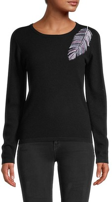Brodie Cashmere Birds Of A Feather Cashmere Sweater