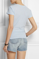 James Perse Casual slub cotton-jersey T-shirt