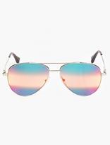 Cutler and Gross Silver '0740' Aviator Sunglasses